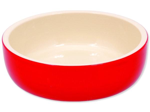 Miska MAGIC CAT keramická červená 14,5 cm
