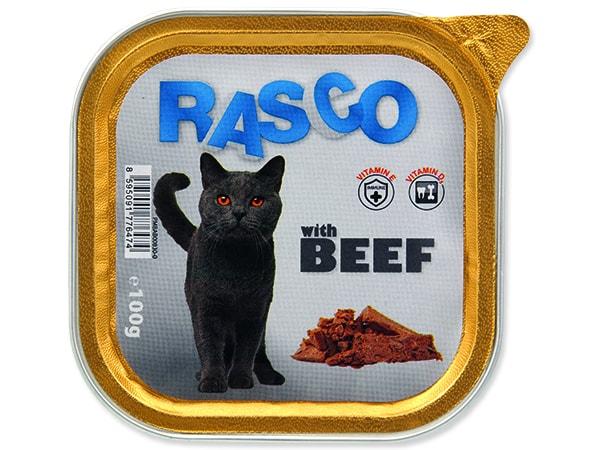 Paštika RASCO Cat s hovězím 100g