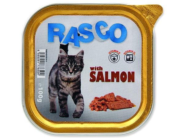 Paštika RASCO Cat s lososem 100g