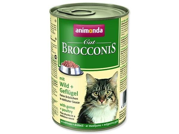 Konzerva ANIMONDA Brocconis zvěřina + drůbež 400g