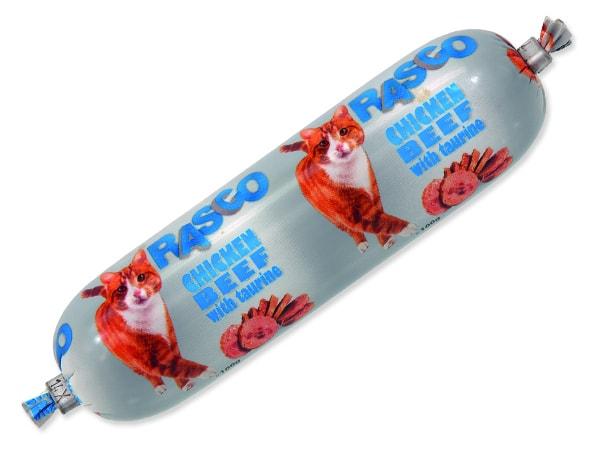 Salám RASCO Cat Chicken, Beef with Taurine 100g