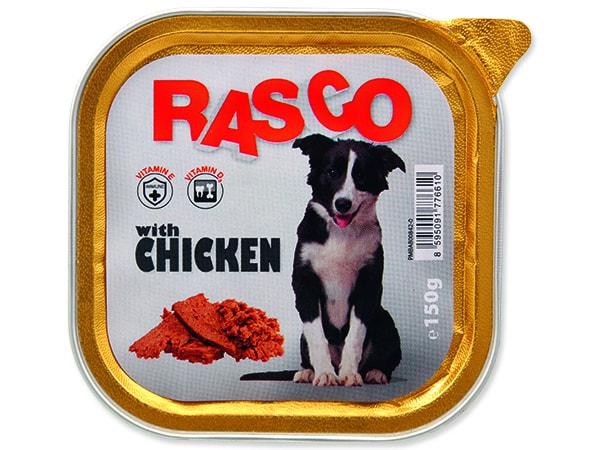 Paštéta RASCO Dog s kuracím mäsom 150g