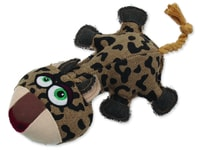 Hračka DOG FANTASY textilní leopard 32 cm