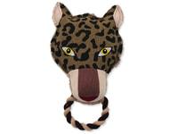 Hračka DOG FANTASY textilní leopard 26 cm