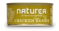 Naturea GF cat vlhké - Chicken, Rabbit 80g