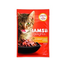 Kapsička IAMS Cat Delights Turkey & Duck in Jelly 85g