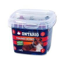 Snack ONTARIO Dog Trainee Bones 100g