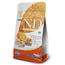 N&D LG CAT Adult Codfish & Orange 300g