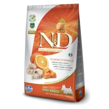 N&D GF Pumpkin DOG Adult Mini Codfish 100g