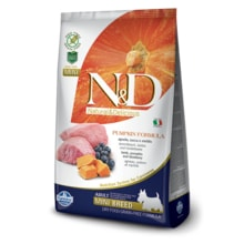 N&D GF Pumpkin DOG Puppy Mini Lamb 100g