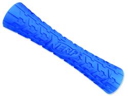 Hračka NERF gumový váleček pískací 17 cm