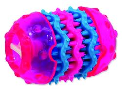 Hračka DOG FANTASY TPR Dental růžová 9,8 cm