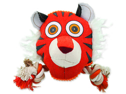 Hračka DOG FANTASY textilní tygr 18 cm