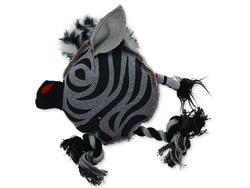 Hračka DOG FANTASY textilní zebra 22 cm