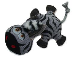 Hračka DOG FANTASY textilní zebra 32 cm