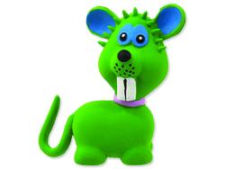 Hračka DOG FANTASY Latex zvířata se zvukem mix 7-9 cm