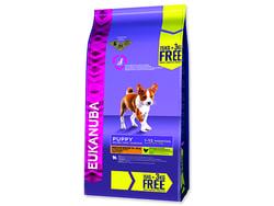 EUKANUBA Puppy & Junior Medium Breed BONUS 18kg