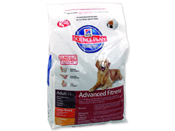 HILL`S SP Canine Adult Advanced Fitness Large Breed Chicken 12kg
