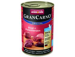 Konzerva ANIMONDA Gran Carno Junior hovězí + krůtí srdce 400g