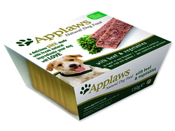 Paštika APPLAWS Dog Pate with Beef & Vegetables 150g