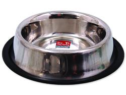 Miska DOG FANTASY nerezová s gumou 19 cm 470ml