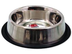 Miska DOG FANTASY nerezová s gumou 21 cm 700ml