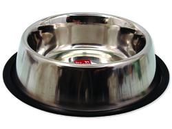 Miska DOG FANTASY nerezová s gumou 23 cm 940ml