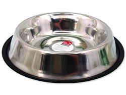 Miska DOG FANTASY nerezová s gumou 30 cm 1600ml