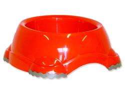 Miska DOG FANTASY plastová protiskluzová oranžová 24 cm 1245ml