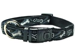Obojek ROGZ Fancy Dress Black Bone XL