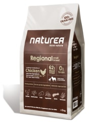 Naturea GF dog Regional - Adult small breeds 100g