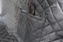 BAZAR - Reedog ochranný potah do auta pro psy na zip + boky - šedý - velikost M