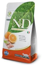 N&D GF CAT Adult Fish & Orange 300g