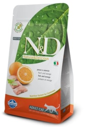 N&D GF CAT Adult Fish & Orange 5kg