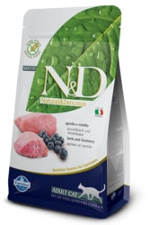N&D GF CAT Adult Lamb & Blueberry 5kg