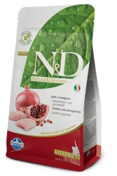 N&D GF CAT KITTEN Chicken & Pomegranate 1,5kg