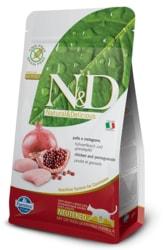 N&D GF CAT Neutered Chicken & Pomegranate 300g
