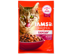 Kapsička IAMS Cat Senior Delights Chicken in Gravy 85g