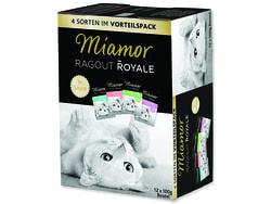 Kapsičky MIAMOR Ragout Royale ve šťávě multipack 1200g