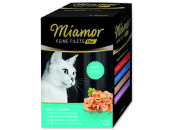 Kapsičky MIAMOR Feine Filets Mini Selection multipack 400g