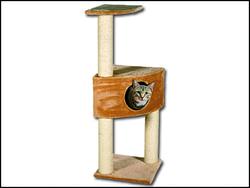 Odpočívadlo MAGIC CAT Irena béžové 109 cm