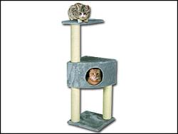 Odpočívadlo MAGIC CAT Irena šedé 109 cm