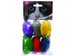 Hračka MAGIC CAT myšky s catnipem 15 cm 6ks