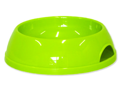 Miska MAGIC CAT plastová zelená 15 cm 200ml