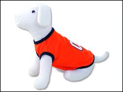 Triko DOG FANTASY Sport 01 oranžové S-M