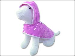 Pláštěnka DOG FANTASY DeLuxe růžová XL