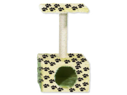 Odpočívadlo CAT-GATO Diabolo potisk tlapky 66 cm