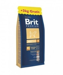 Brit Premium Dog Adult M 15+3kg