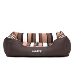 Pelíšek pro psa Reedog Comfy Brown & Strips