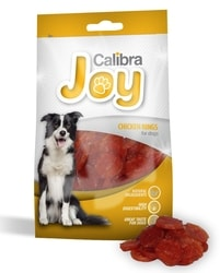 ÚTULEK: Calibra Joy Dog Chicken Rings 80g